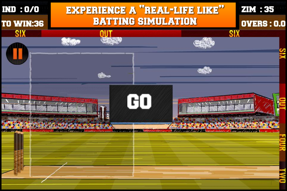 Screenshot Ultimate Flick Cricket